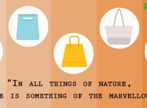 Ecofriendly bags