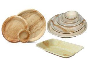 areca plates,trays and bowls